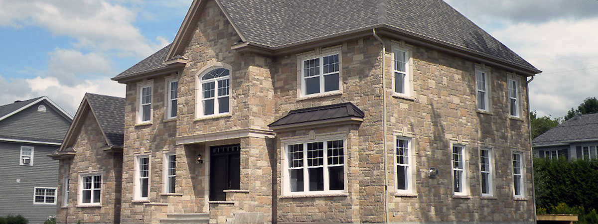 Frontenac Estate Stone  By Shouldice Stone